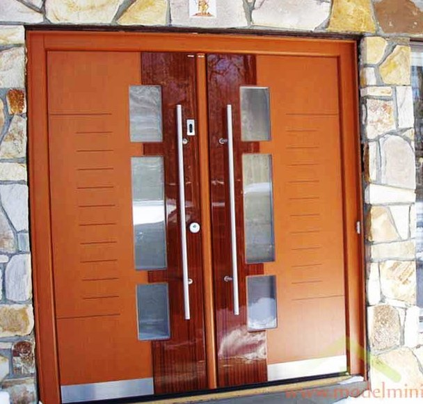 31 Desain Daun Pintu Rumah Dari Bahan Kayu - Plafon Gypsum ...