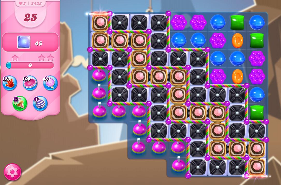 Candy Crush Saga level 5433