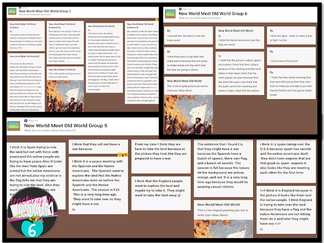 You can have the kids work in groups on Padlet.  They just get a different link to each different Padlet bulletin board.