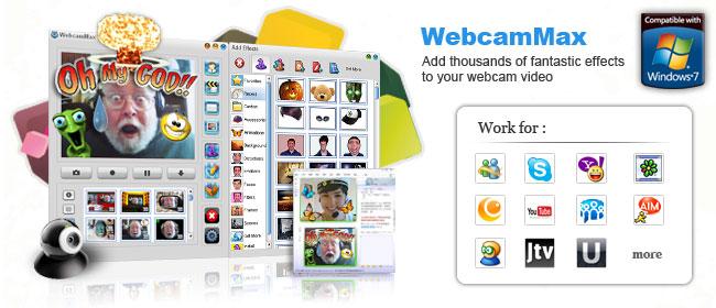 WebcamMax Download Free, Webcam Download for Windows