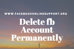 Delete or Deactivate Facebook Account
