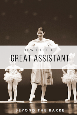 How to be a great assistant