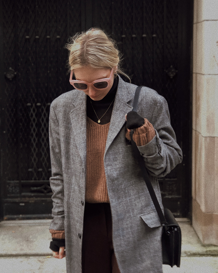 Layering, transitional weather, style tips, aritzia, dagne dover, wyeth eyewear, vans