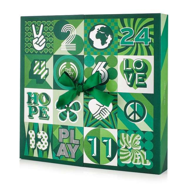 The Body Shop 25 Days of Game-Changing Advent-ure Standard Advent Calendar