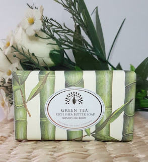 The English Soap Company Green Tea Rich Shea Butter Soap