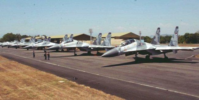 Jumlah pesawat tempur AU indonesia