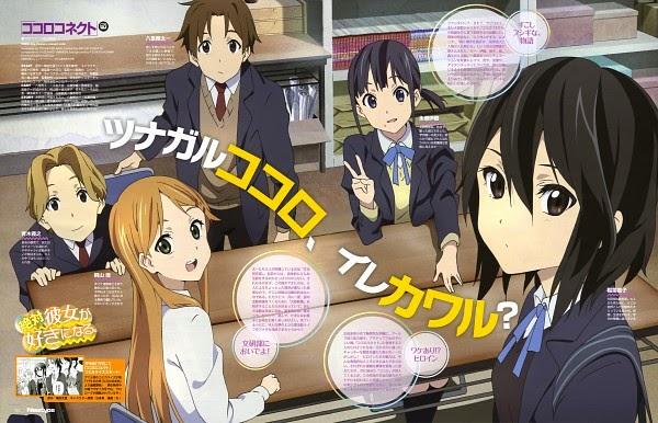 جميع حلقات انمي Kokoro Connect مترجم عدة روابط