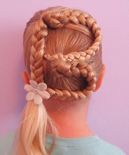 Letter hair fun for little kid}