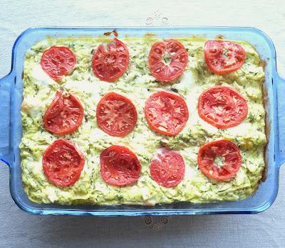 Grated Zucchini Lasagne