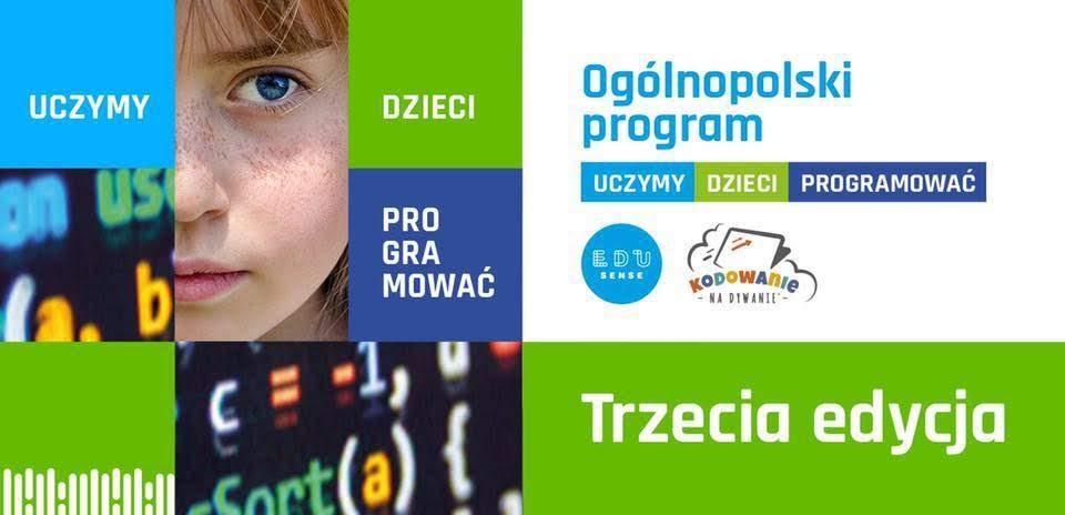 Znalezione obrazy dla zapytania iii edycji ogólnopolskiego programu uczymy dzieci programować