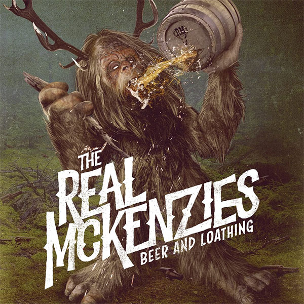 "The Real McKenzies stream new song ""Big Foot Steps"""