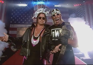 WCW Great American Bash 1998 Review - Bret Hart & Hulk Hogan faced Roddy Piper & Randy Savage