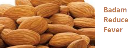 Health Benefits of Almond or Badam Reduce Fever