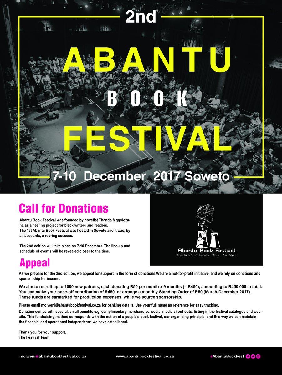 book festival fundraiser