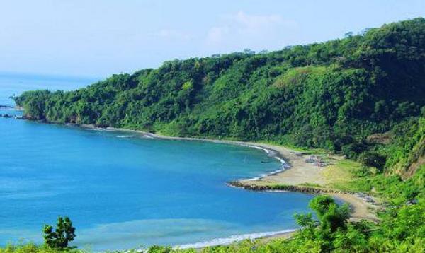 empat Wisata Pantai Ombak Tujuh Sukabumi Ujung Genteng