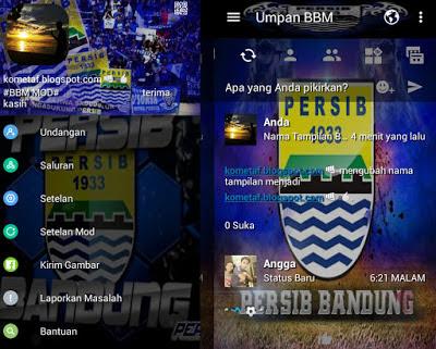 BBM Mod Persib Bandung APK v3.1.0.13