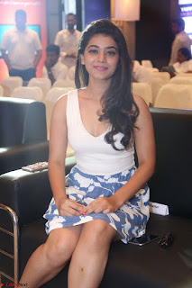 Yamini in Short Mini Skirt and Crop Sleeveless White Top 102.JPG