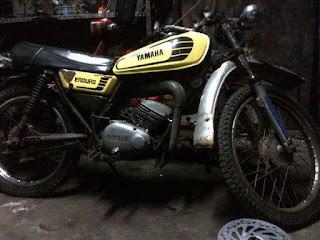 Lapak Trail Klasik Dijual Yamaha DT100 Surat Komplit