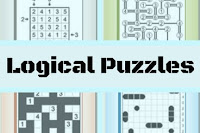 Online Logical Puzzles