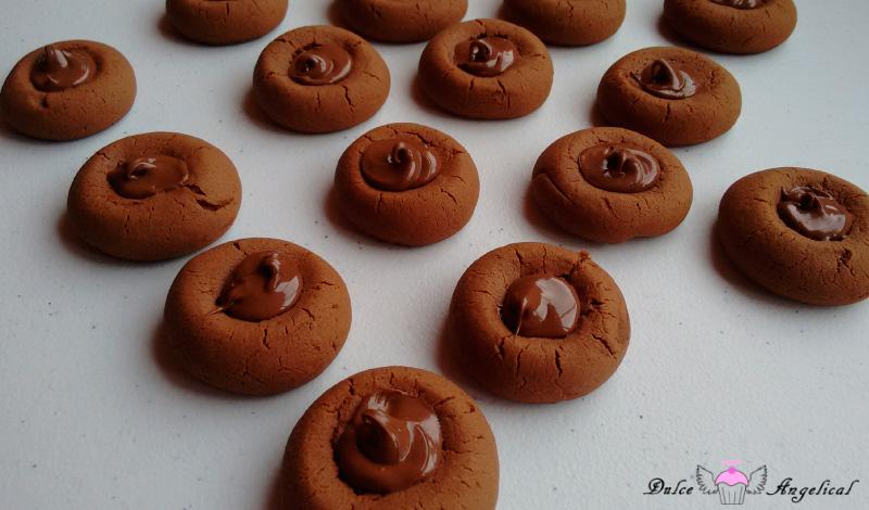 Receta casera de las galletas de Nutella