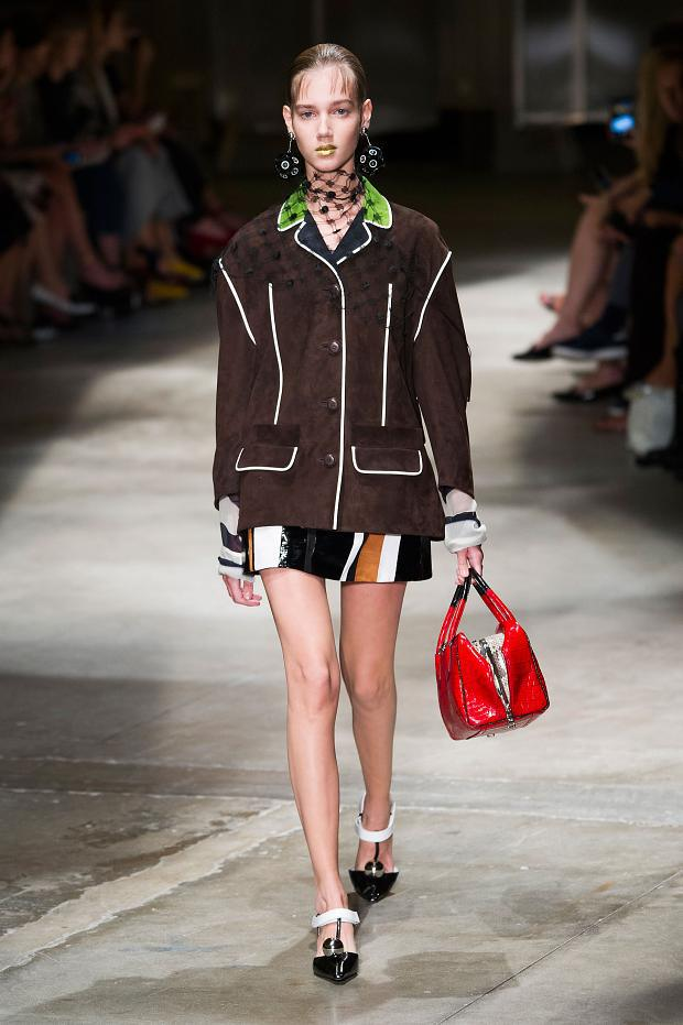 754756f75d48 Fashion Runway | Prada Spring-Summer 2016 Runway Milan Fashion Week ...