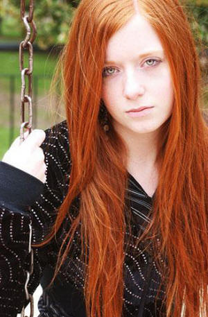 Long Natural Red Hair
