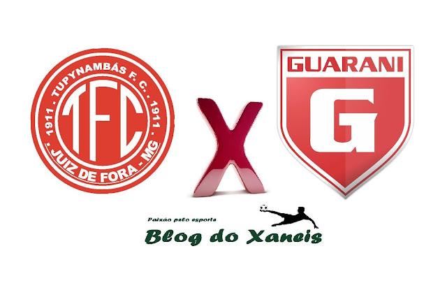 Tupynambás x Guarani   Campeonato Mineiro Mod. II   Sáb. 05/03/2017  Estádio Municipal Radialista Mário Helênio Juiz de Fora, Minas Gerais - 11h