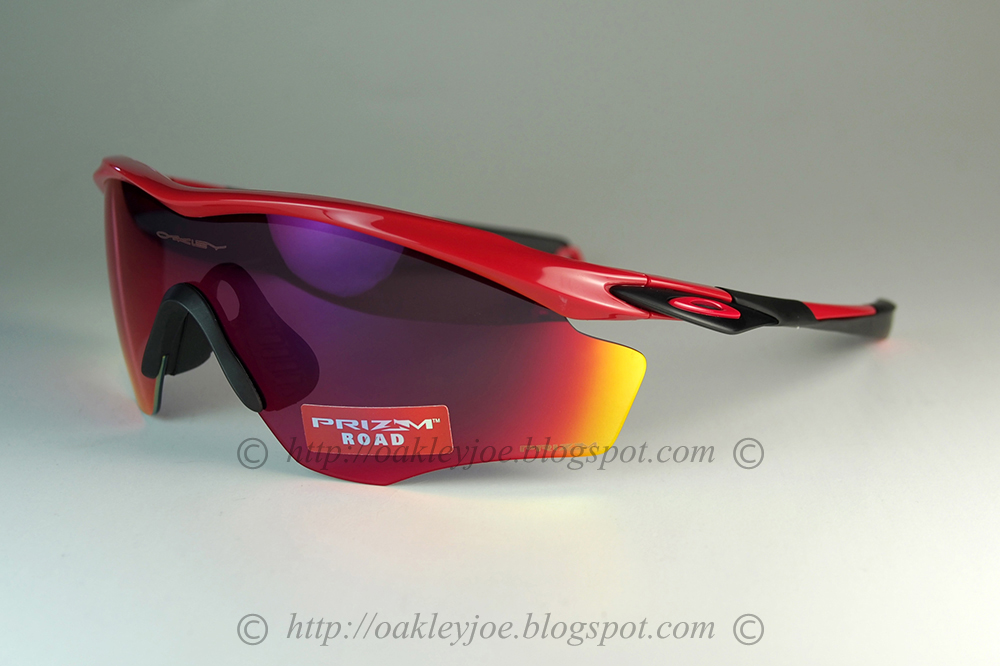 4212a774fcb oo9343-1145 M2 Frame XL standard fit redline + prizm road  225 lens pre  coated with Oakley hydrophobic nano solution