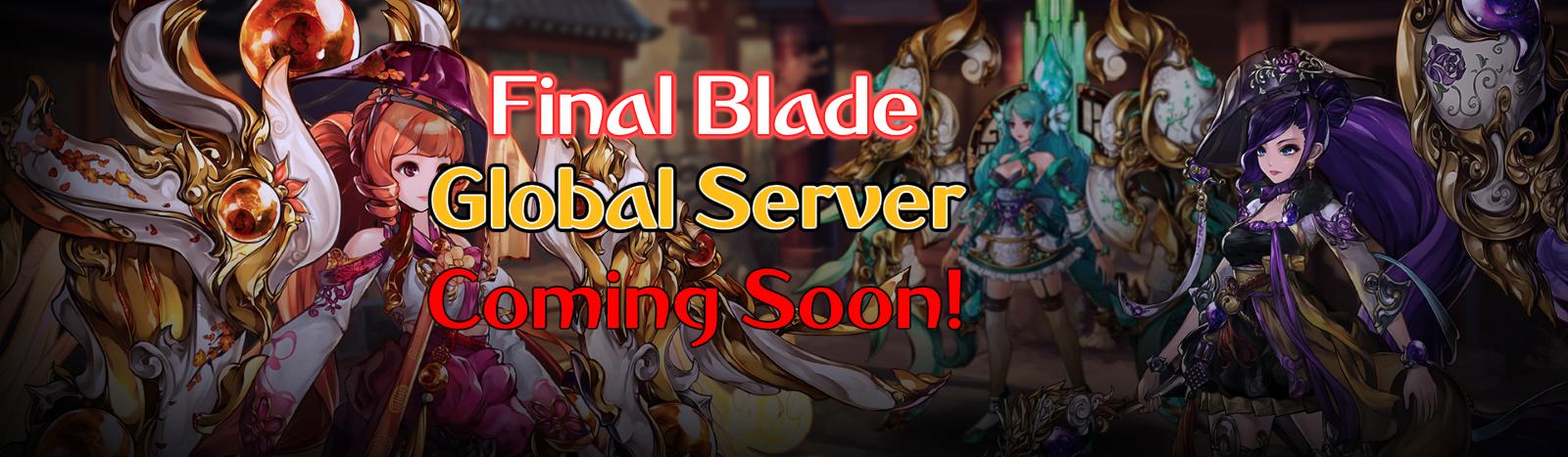 Final Blade -  Global Server
