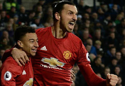 West Bromwich Albion 0 – 2 Manchester United [Premier League] Highlights 2016/17