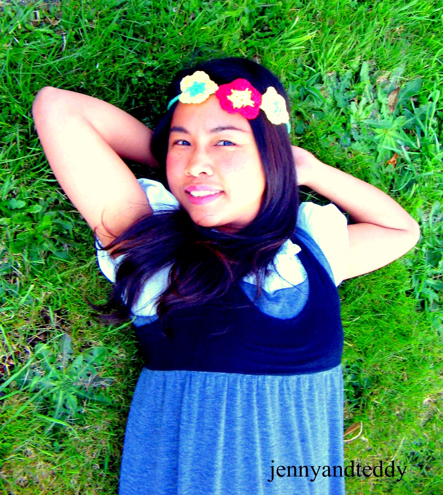 Flower Headband Tutorial: Flowers Headband Tutorial