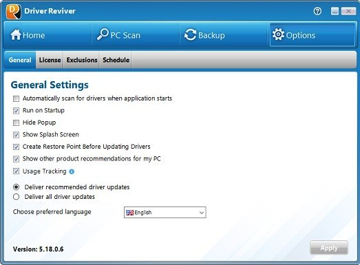 ReviverSoft Driver Reviver 5.25.6.2