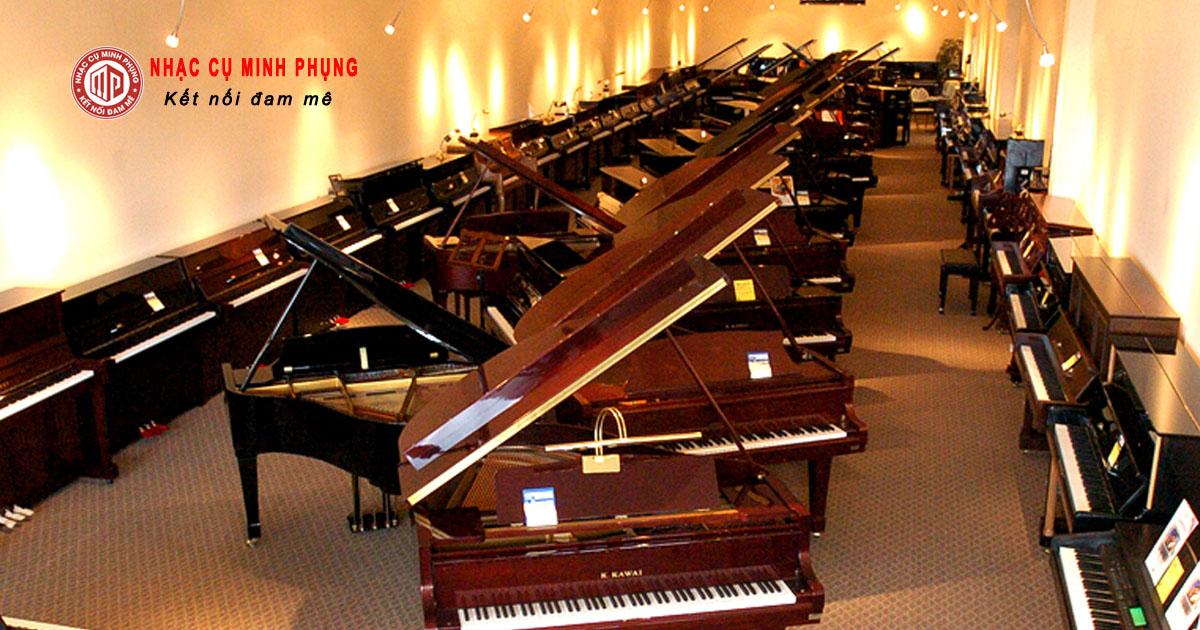 Nên mua đàn piano điện yamaha Hay đàn piano cơ?