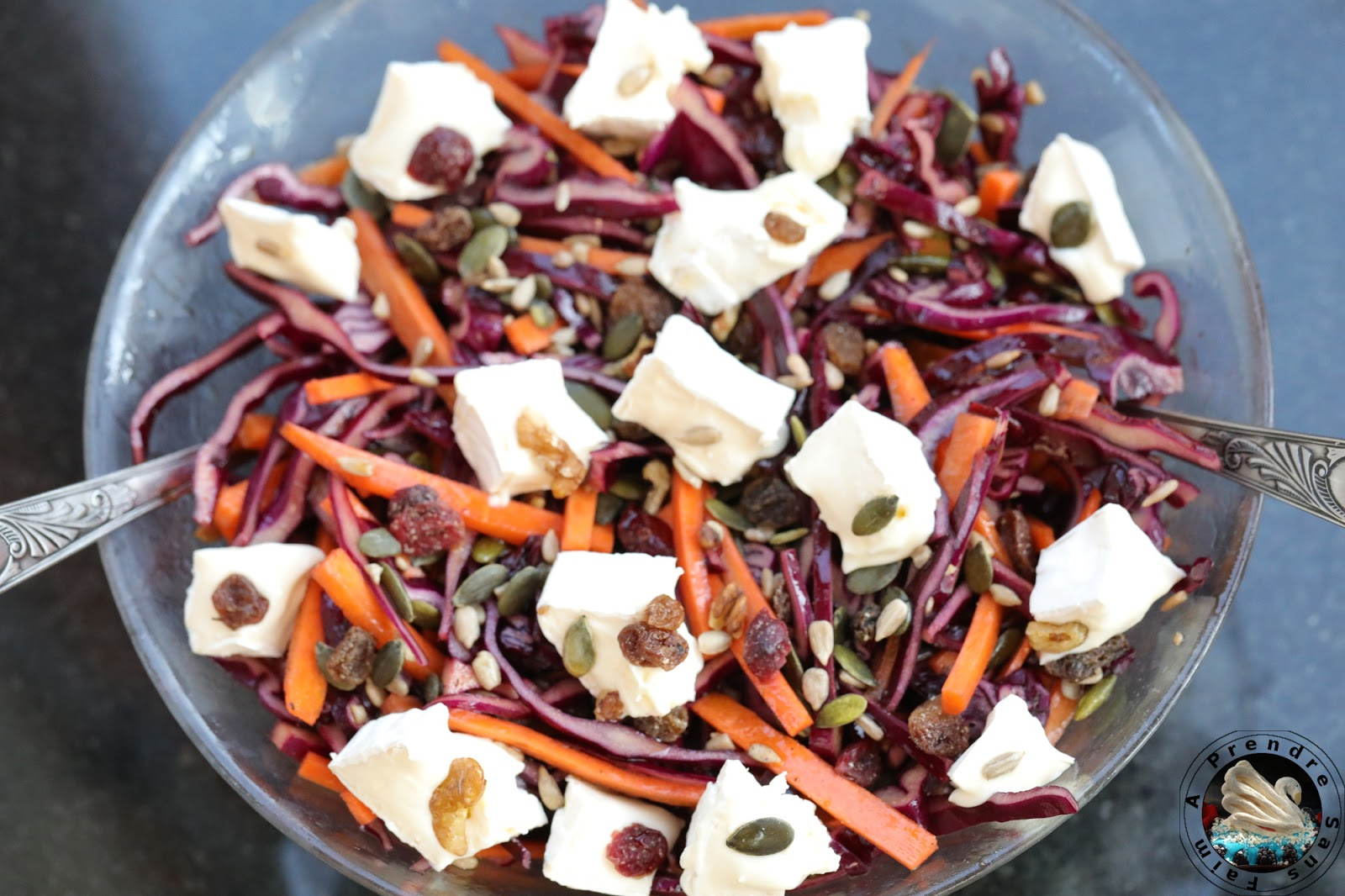 Salade croquante au fromage