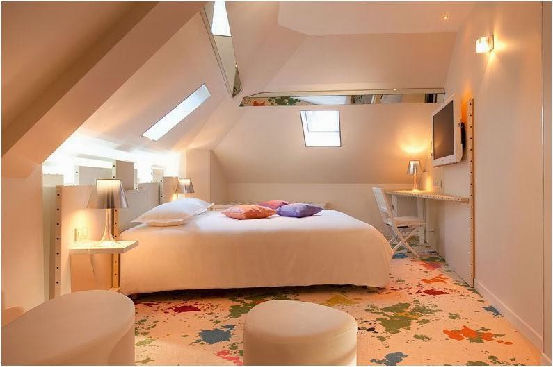 Chambre Artiste Hotel Design de Paris