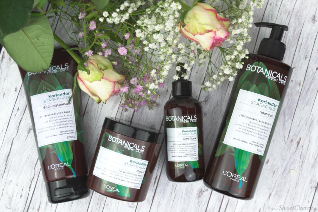 L'Oréal Paris Botanicals Fresh Care Koriander Stärke-Kur Haarpflegeserie