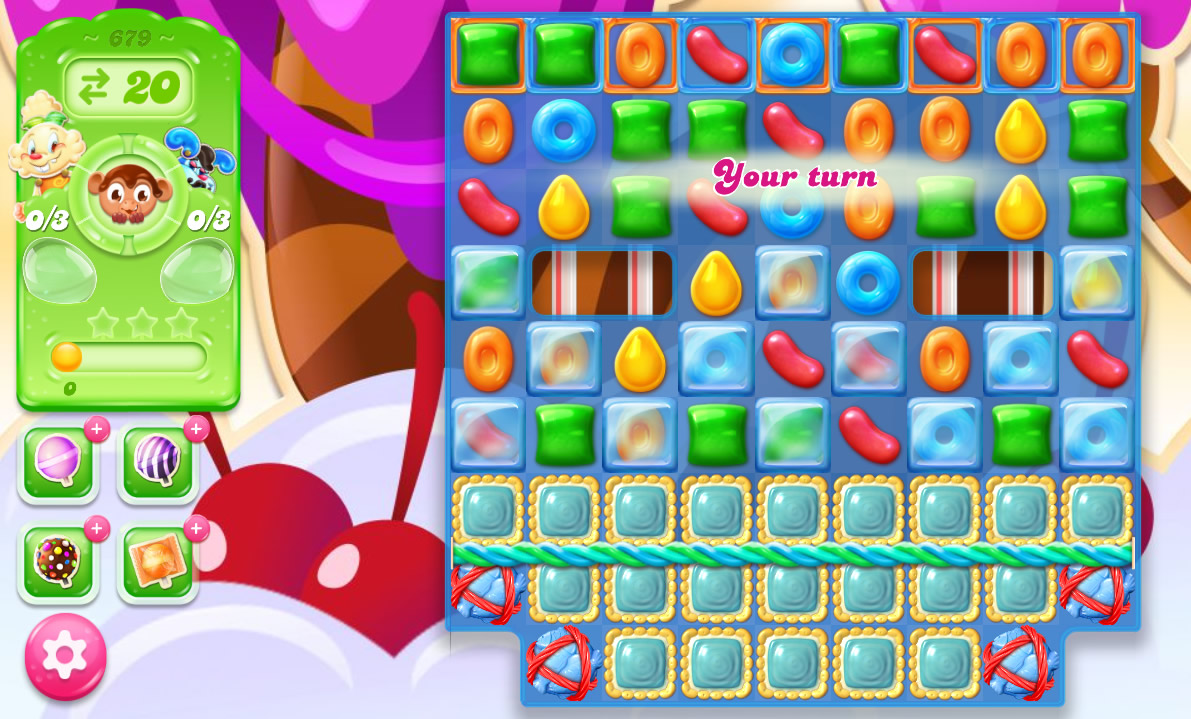 Candy Crush Jelly Saga level 679