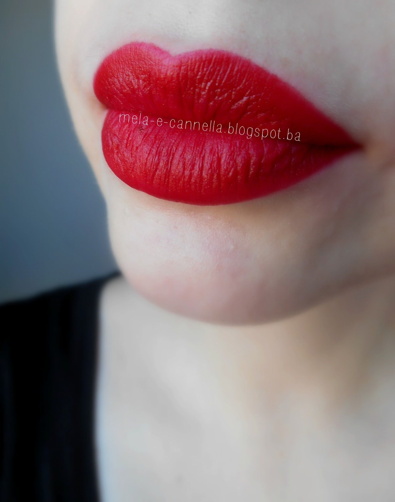 Lipstick red colour matte