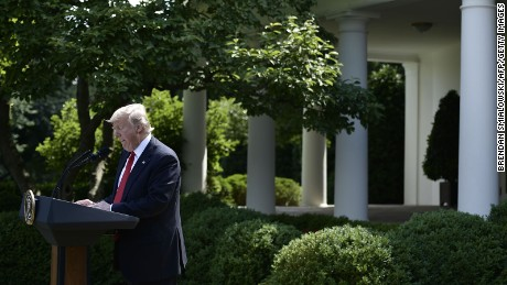 US WITHDRAWS FROM PARIS CLIMATE AGREEMENT- TRUMP