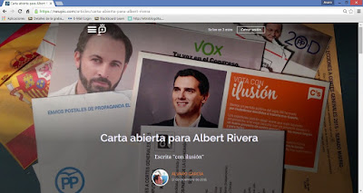 ÁlvaroGP - Carta abierta a Albert Rivera en Neupic - Albert Rivera - Ciudadanos - C's - Social Media & SEO Strategist - Social Media - SEO - Community Manager - MIBer - Batman - Los Cazafantasmas - Casablanca - Neupic - Gemelolandia - Instagram - LinkedIn - IAA Spain - ADECEC - Wejoyn - COPE - El gastrónomo de la COPE - el troblogdita - el fancine - el gastrónomo