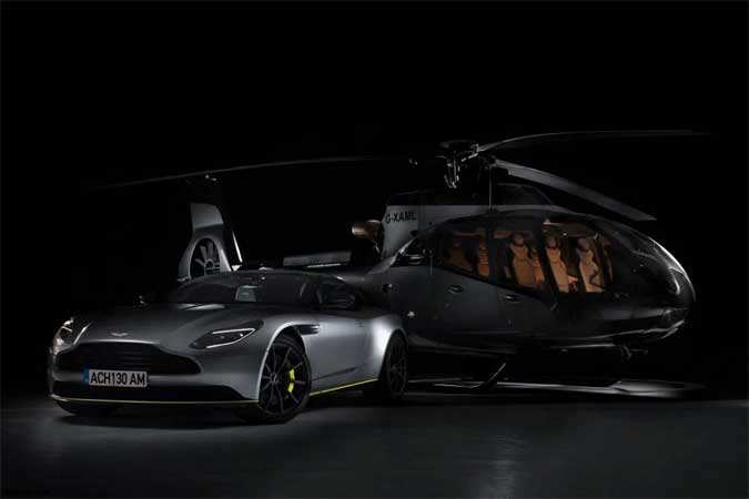 airbus helicopter aston martin
