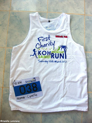 Samui Midnight Run, Shirt and BIB