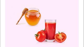 tomato face pack for skin whitening in urdu