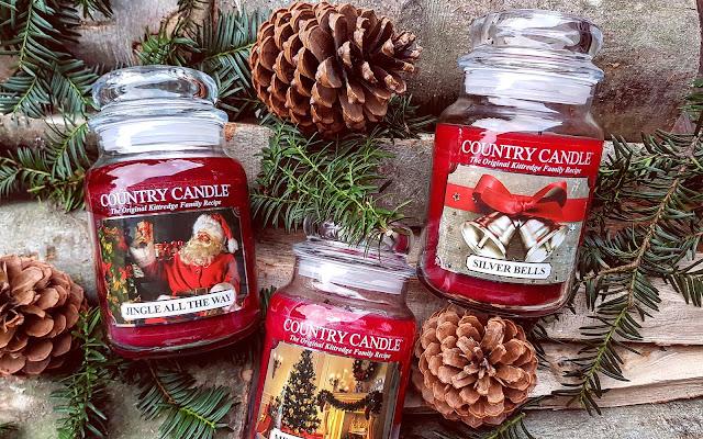 Trzy świąteczne, czerwone słoje Country Candle - porównanie i recenzja - Czytaj więcej »