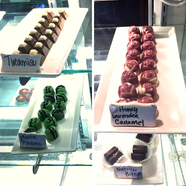 Inventive chocolate truffles at The Chocolate Sanctuary in Gurnee, Illinois