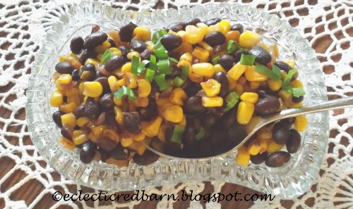 Eclectic Red Barn: Black Bean and Corn Salad
