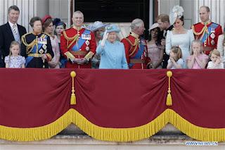 Annual British monarch's birthday celebrations