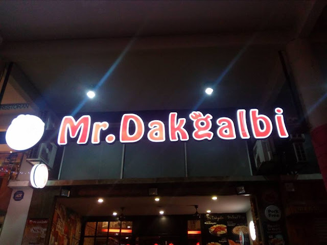 Mr. Dakgalbi di Setapak