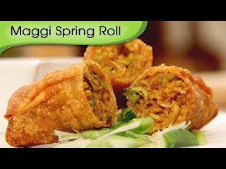 Maggi Spring Roll