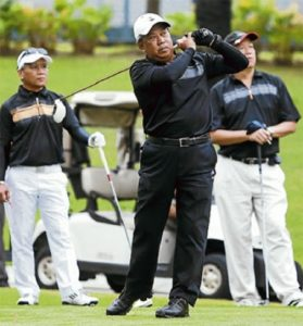 Image result for Muhyiddin main golf
